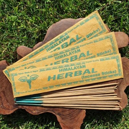 Himalayan herbal - Encens népalais en bâtonnets roulés à la main - Encens népalais