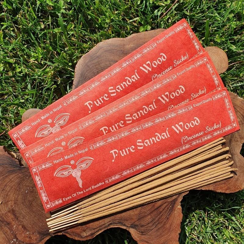 Pure sandal wood - Encens au bois de santal naturel du Népal