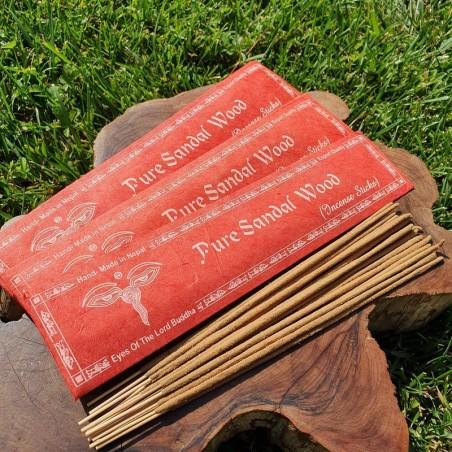 Pure sandal wood - Encens au bois de santal naturel du Népal - Encens népalais