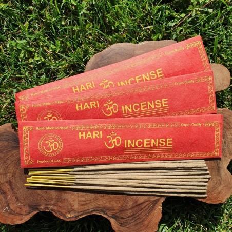 Hari - 15 bâtonnets d'encens népalais roulés à la main - Encens népalais