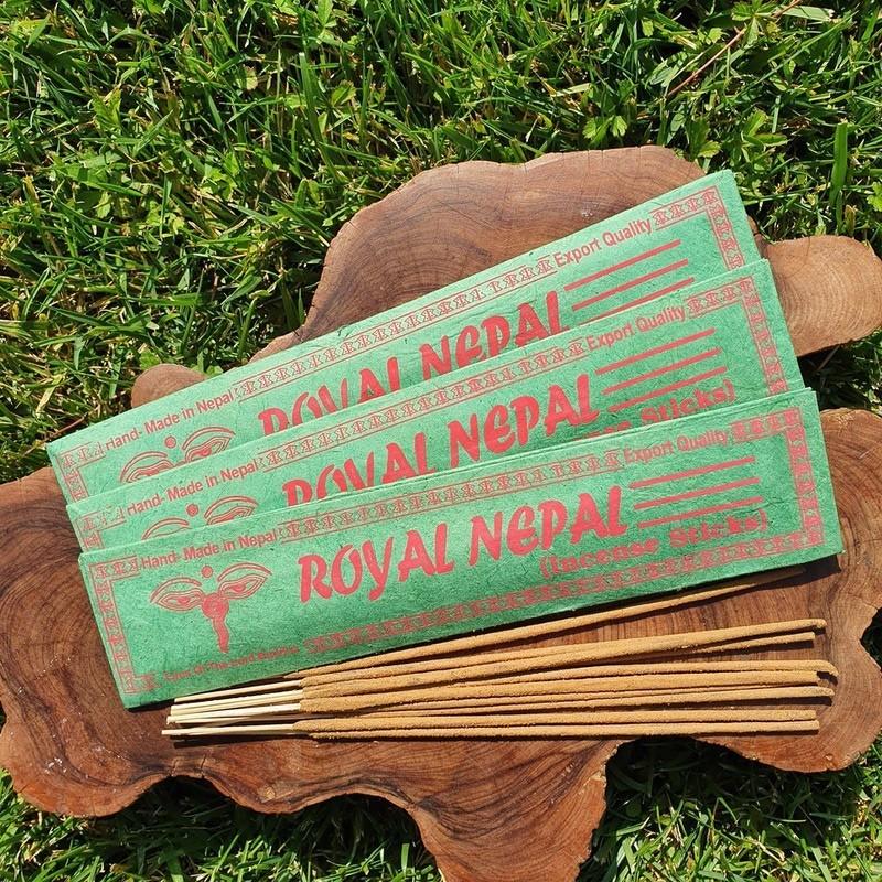 Royal nepal - Encens népalais en bâtonnets roulés à la main