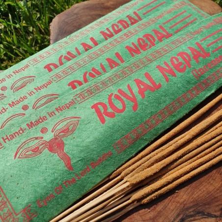 Royal nepal - Encens népalais en bâtonnets roulés à la main - Encens népalais