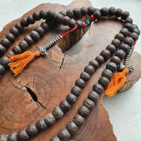 "Collier ""Buddhaherchitta"" - Colliers malas tibétains"