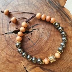 Bracelet Bouddha en perles...