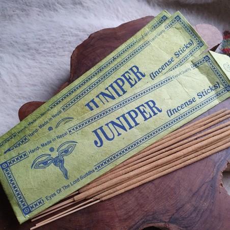Juniper - Encens de genévrier en bâtonnets roulés à la main au Népal - Encens népalais