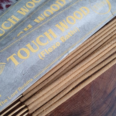 Touch wood - Encens népalais en bâtonnets roulés à la main - Encens népalais