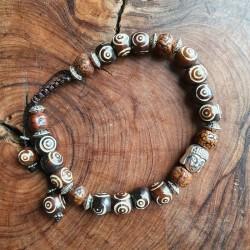 Bracelet Bouddha os et...