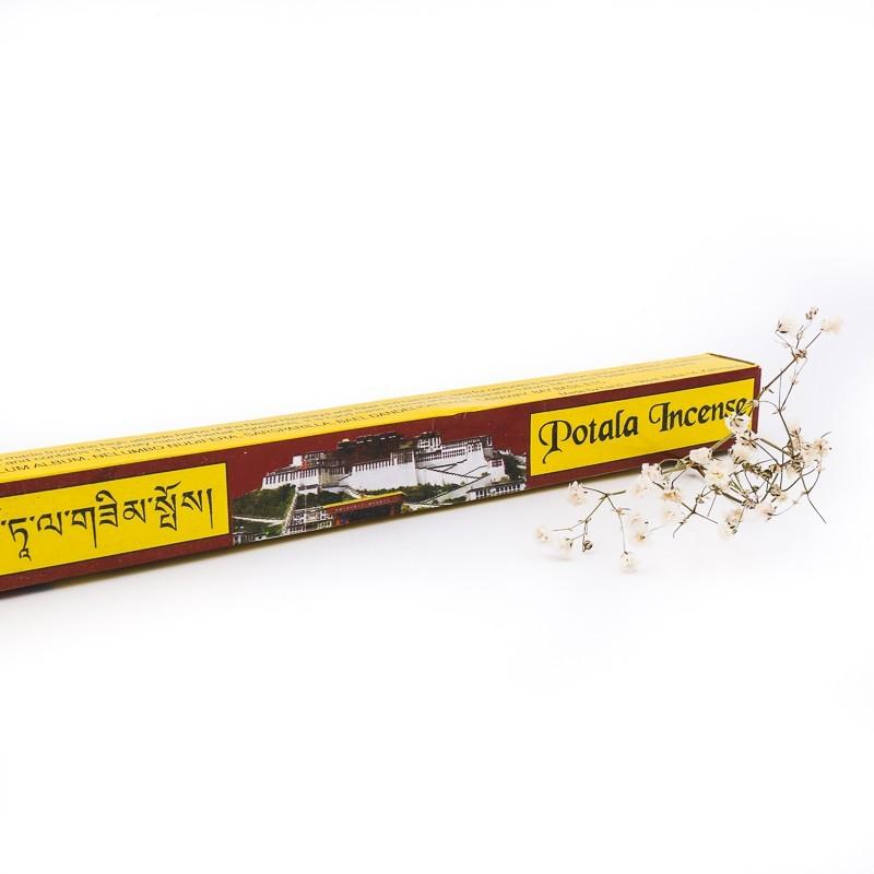 Potala Incense - étui de 20 bâtonnets d'encens tibétain