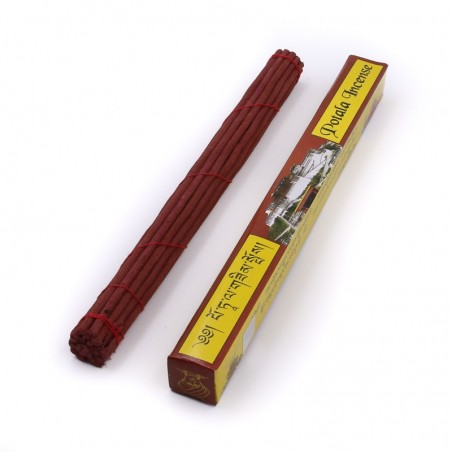 Potala Incense - étui de 20 bâtonnets d'encens tibétain - Encens tibétain