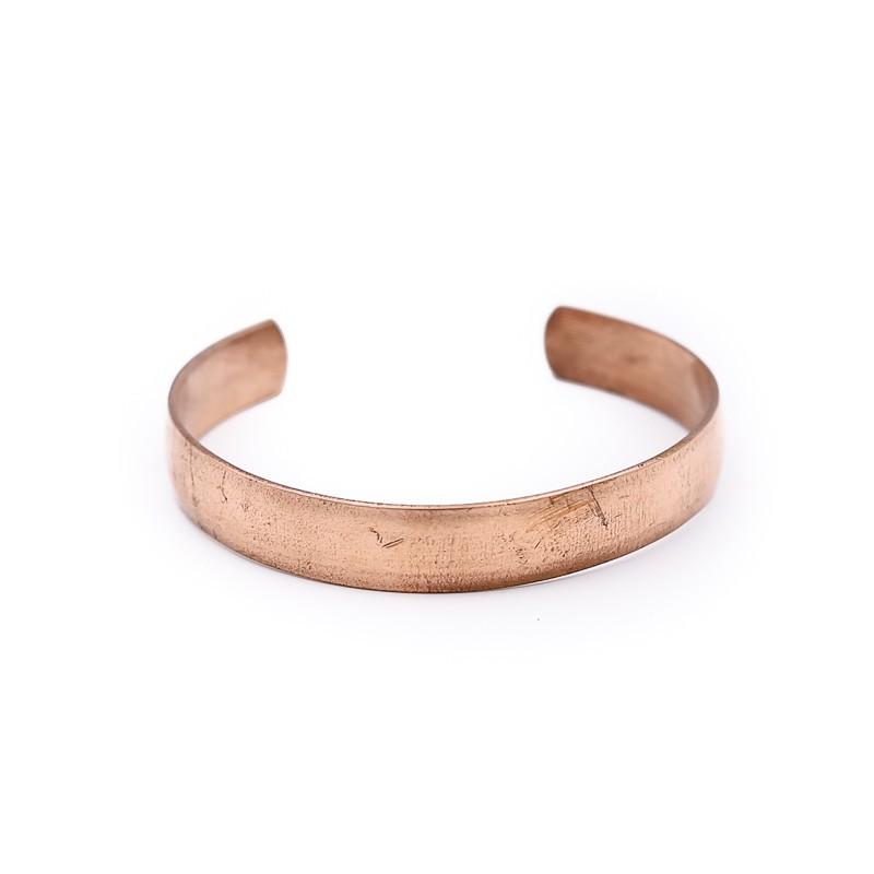 Bracelet tibétain en cuivre pur du Népal