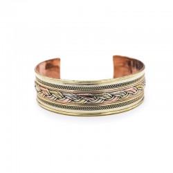 Bracelet tibétain manchette...