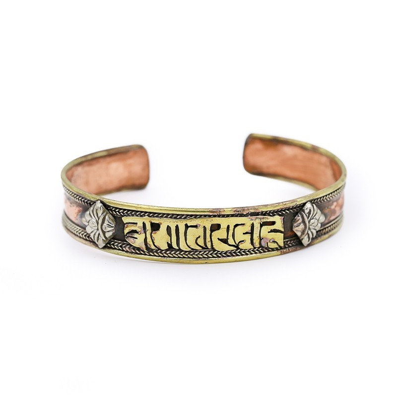 "Bracelet tibétain mantra ""Om Mani Padme Hum"""