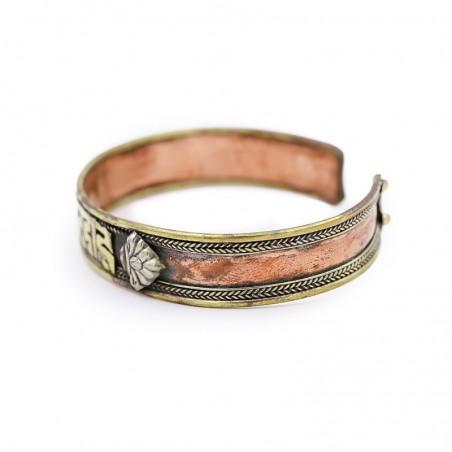 "Bracelet tibétain mantra ""Om Mani Padme Hum"" - Bracelets tibétains"