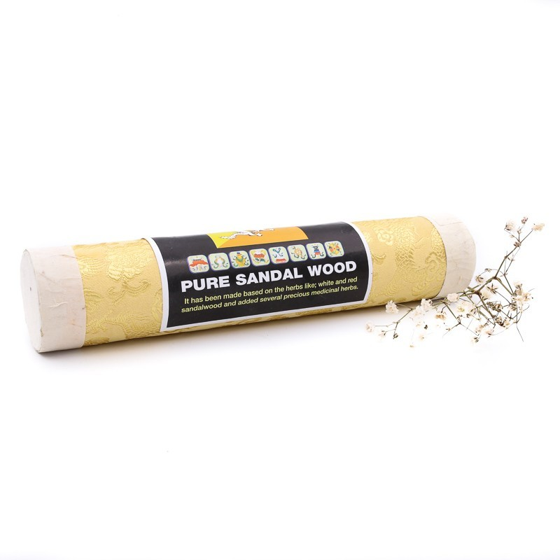 Pure Sandal Wood - Encens bouthanais au bois de santal blanc et rouge
