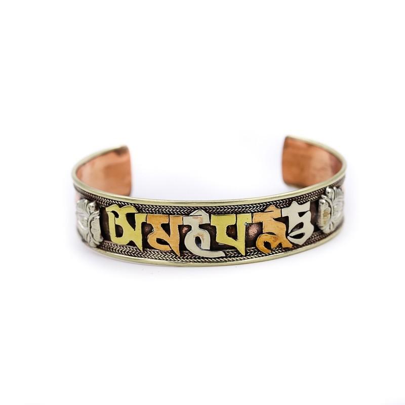 "Bracelet tibétain ""Om Mani Padme Hum"""