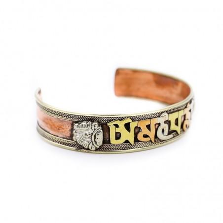 Bracelet tibétain Om Mani Padmé Hum - Bracelets tibétains bouddhistes