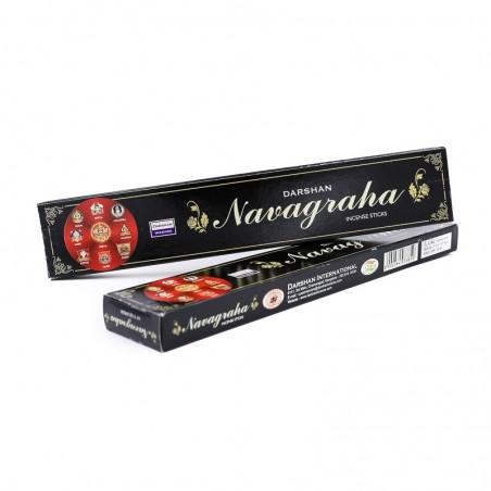 Encens indien Darshan Navagraha en bâtonnets - Encens indien