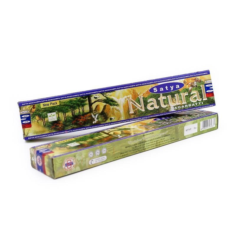 Encens Satya Natural en bâtonnets - Encens indien