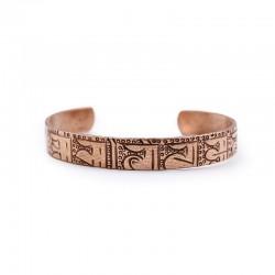 Bracelet tibétain en cuivre...
