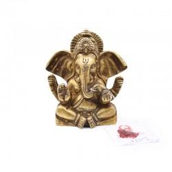 Statue Ganesh méditation en...