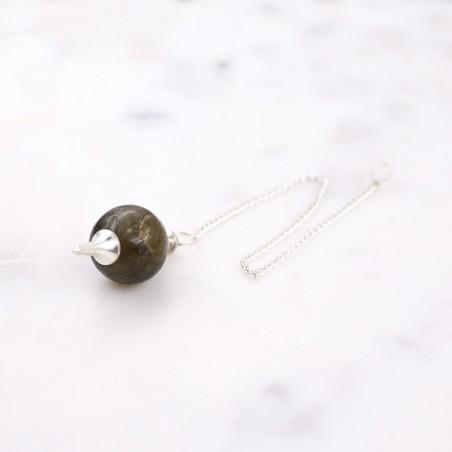 Pendule labradorite - Pendules divinatoires