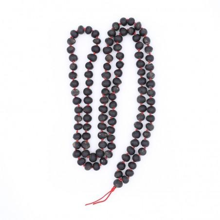 Collier mala tibétain en graines de reetha - Colliers malas tibétains