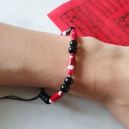 """Bracelet """"Prayer"""" - Bracelets malas tibétains"""