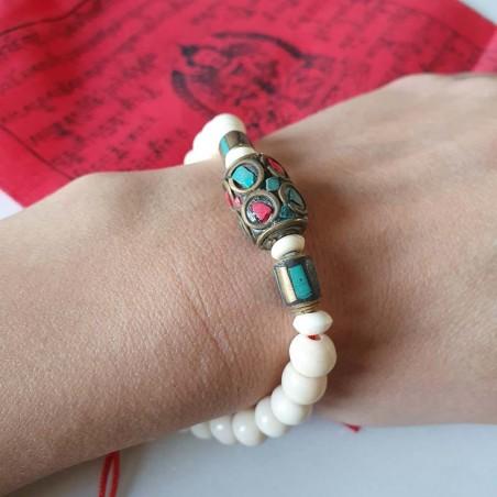 "Bracelet ""Resham firiri"" - Bracelets malas tibétains"