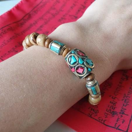 """Bracelet """"Kanchenjunga"""" - Bracelets malas tibétains"""