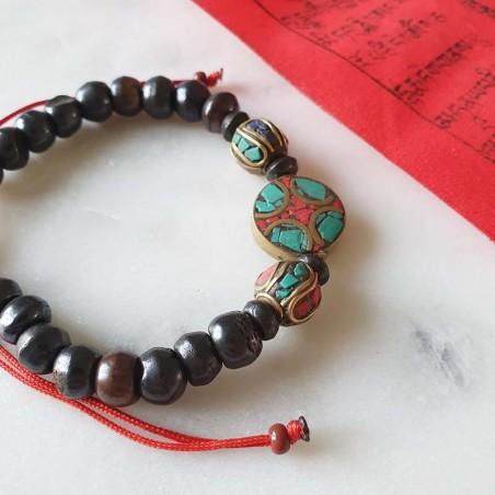 """Bracelet """"Tenzing sherpa"""" - Bracelets malas tibétains"""