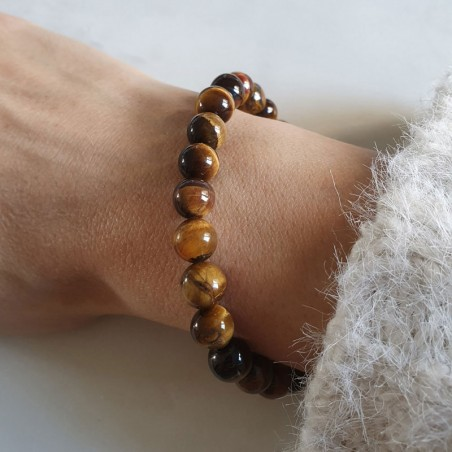 Bracelet oeil de tigre - Bracelets pierres naturelles