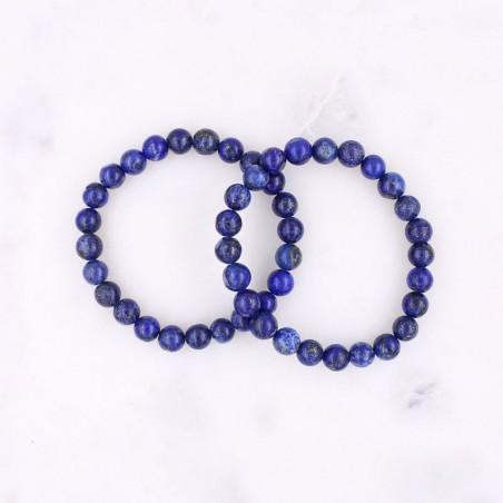 Bracelet lapis lazuli - Bracelets en pierres naturelles