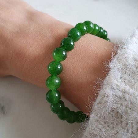 Bracelet jade néphrite - Bracelets en pierres naturelles