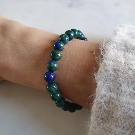 Bracelet azurite - Bracelets en pierres naturelles