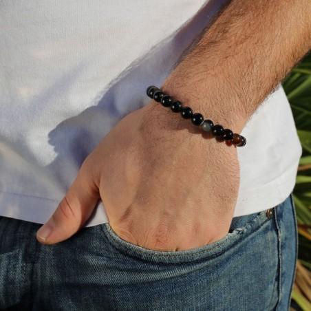 Bracelet onyx noir - Bracelets en pierres naturelles