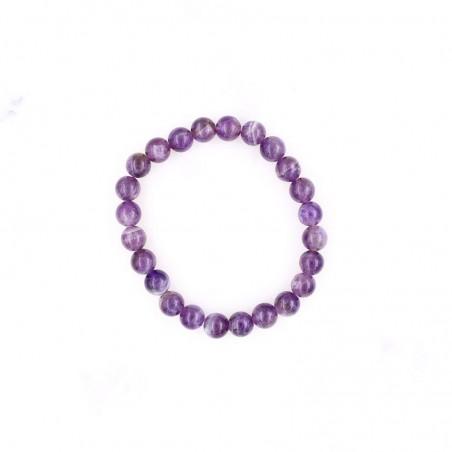 Bracelet améthyste - Bracelets en pierres naturelles