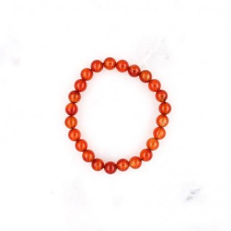 Bracelet cornaline - Bracelets en pierres naturelles