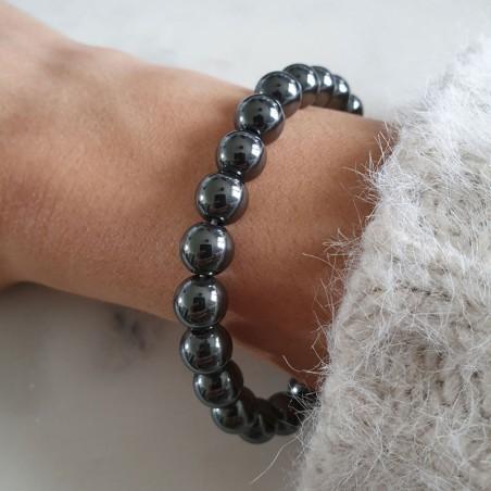 Bracelet hématite - Bracelets en pierres naturelles
