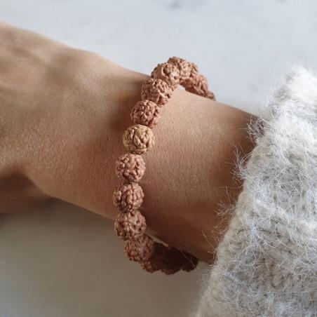 Bracelet rudraksha - Bracelets en pierres naturelles