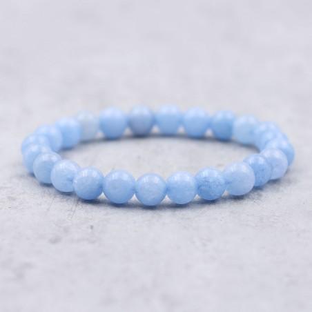Bracelet angélite - Bracelets en pierres naturelles
