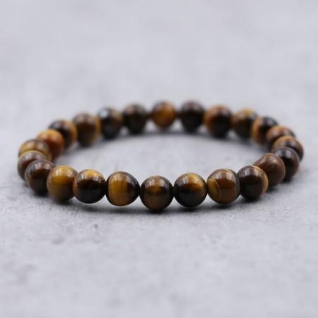 Bracelet oeil de tigre - Bracelets en pierres naturelles