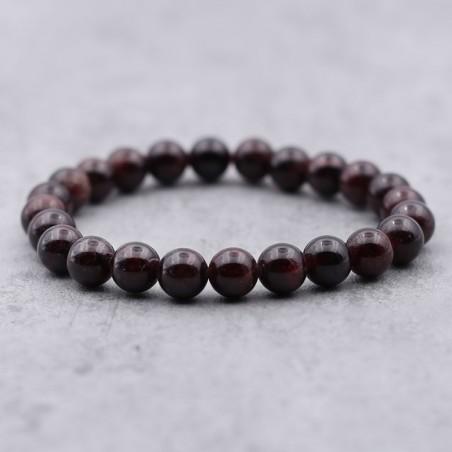 Bracelet grenat rouge - Bracelets en pierres naturelles