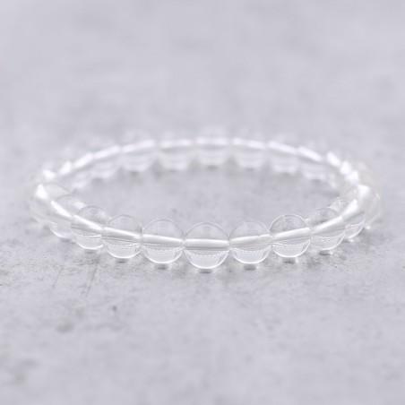 Bracelet cristal de roche - Bracelets en pierres naturelles