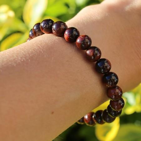 Bracelet oeil de taureau - Bracelets en pierres naturelles