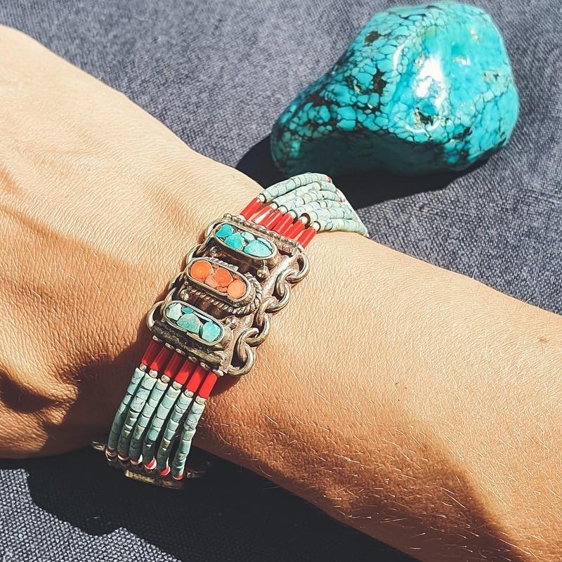 """Bracelet tibétain """"Ramro phula"""""""