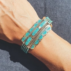 """Bracelet manchette """"Ekdom..."""