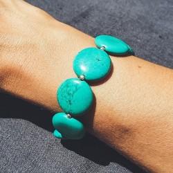 "Bracelet tibétain ""Firoza..."