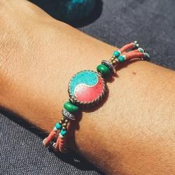 """Bracelet tibétain """"Rato yin..."""
