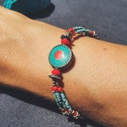 """Bracelet tibétain """"Ramro..."""