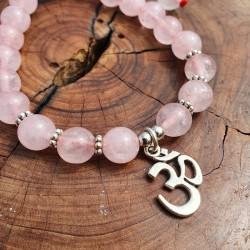 Bracelet quartz rose et...